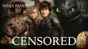 train dragon 2 unnecessary censorship censored