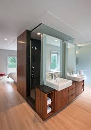 Closet Behind Bed Hotel Bath Ideas For The Master Bedroom