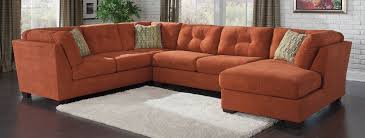 Benchcraft Furniture Pflugerville Furniture Center Delta City U2013 Rust 3 Piece Sectional