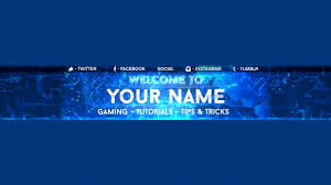 download free youtube channel art template psd in youtube banner
