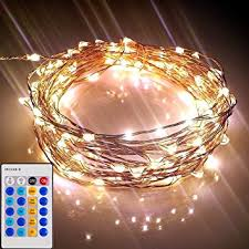 starry lights with remote dimmer 120 leds