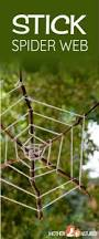 stick spider web spooktacular weaving fun