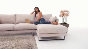 M El Kr Er Wohnzimmer Sofa Bezug Aus Alcantara Stoff Design