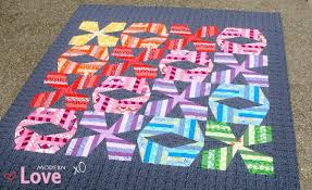 modern love modern xo quilt pattern u0026 big stitch hand quilting tutorial with