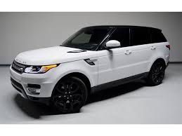 white range rover sport 2014 land rover range rover sport supercharged for sale in