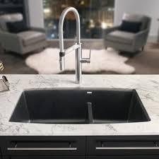 undermount kitchen sink with faucet holes undermount kitchen sinks you ll wayfair