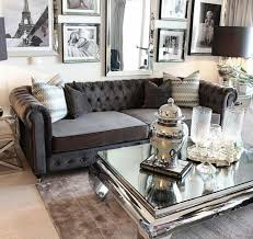 Black Sofa Interior Design by Best 20 Grey Tufted Sofa Ideas On Pinterest Love Seats Sofa