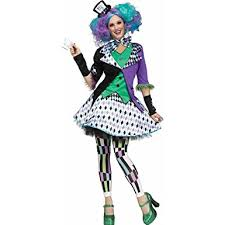 Mad Hatter Halloween Costume Amazon Fun Women U0027s Mad Hatter Costume Clothing
