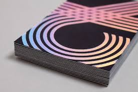 Custom Holographic Business Cards New Brand Identity For Chris Allen By Build Bp U0026o