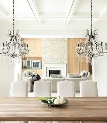 Dining Room Table Chandeliers Dining Room Country House Style U2013 40 Interior Design For The