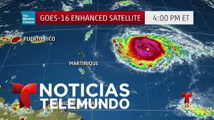 imagenes satelitales live imágenes satelitales de la trayectoria del huracán irma rumbo hacia
