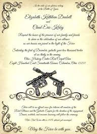 wars wedding invitations wars theme ohio history weddings