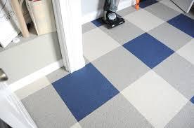 buffalo plaid floor using carpet tiles u2013 go haus go u2013 a diy and