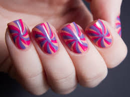 easy nail art designs 3 diy elegant silver violet purple 65 cool