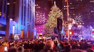 rockefeller center christmas tree lighting 2015 youtube