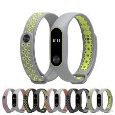 replacement silicone wrist bracelet images Sport strap for xiaomi mi band 2 strap miband 2 bracelet wristband jpg