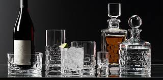 barware sets madison cut crystal barware collection rh