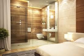 idee chambre parentale avec salle de bain suite parentale magnifique idée intéressante avec le rideau