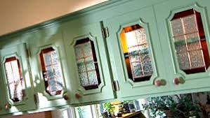 kitchen cabinet doors with glass inserts update kitchen cabinets with glass inserts hgtv