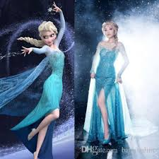 Halloween Costume Sale Buy 2015 Babyonline Cheap Blingbling Princess Frozen Elsa