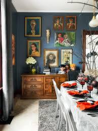 photos hgtv dining room with spooky halloween decor table settings