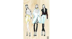 nyfw designer inspiration sketches from christian siriano to