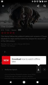 netflix now has a download feature for offline viewing vox