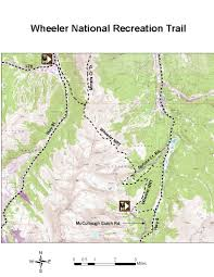 I 70 Colorado Map by Oric Colorado Summit County Region Day Hiking Trails Index Page