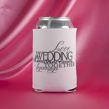 wedding koozie sayings wedding koozies designs allmadecine weddings personalizing