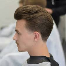 feathered brush back hair 70 exclusive comb over taper haircuts 2018 trend