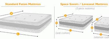 the brilliant king size futon mattress modern clubnoma com