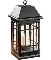 buy smart solar seville lantern outdoor light black at argos co