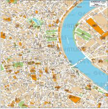 Map Of Bordeaux France by Geoatlas City Maps Bordeaux Map City Illustrator Fully