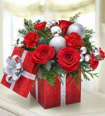 the 25 best christmas flower arrangements ideas on pinterest