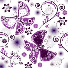 purple butterfly pattern vector material my free photoshop