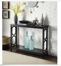 Black Console Table Narrow Console Table Ebay