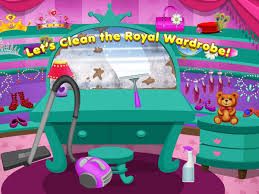 Cleaning Games For Girls Princess Castle Cleanup Android Apps On Google Play