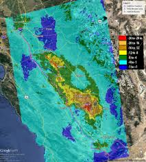 bureau vall alen n nasa data california s san joaquin valley still sinking nasa