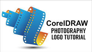 tutorial design logo corel draw x5 coreldraw how to make a 3d photography logo design in corel draw
