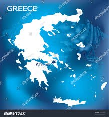 World Map Greece by Greece Map Athens Dotted World Map Stock Illustration 61176313