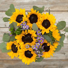 sunflower bouquets sunflower bouquet delivery send sunflowers the bouqs co
