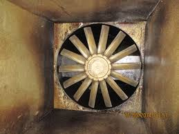 Kitchen Exhaust Fan Cleaning Results