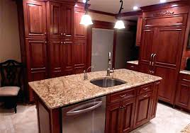 kitchen island designs with sink and dishwasher ideas small rustic