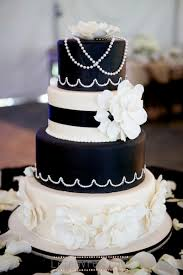 black and white wedding cakes wedding cakes