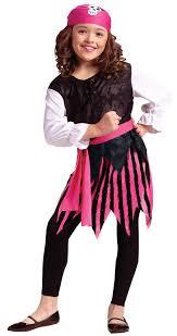 child s halloween costume caribbean pink pirate girls fancy dress buccaneer kids childs