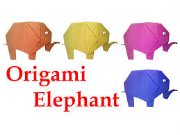 how to make origami elephant diy crafts hd youtube