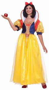 Snow White Halloween Costume Adults Deluxe Snow White Costume Costume Craze