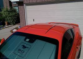 Mustang Black Roof Exterior Decal Options For Your S550 Mustang Americanmuscle