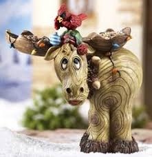carved wood moose trophy carved horns antlers