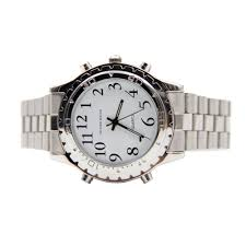 Talking Clock For The Blind High Quality English Talking Clock Stainless Steel For Blind Or